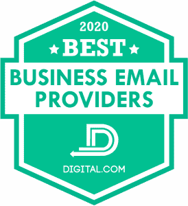 Best Business Email Provider by Digital.com
