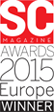 SC Magazine Awards - 2015 Europe Winner