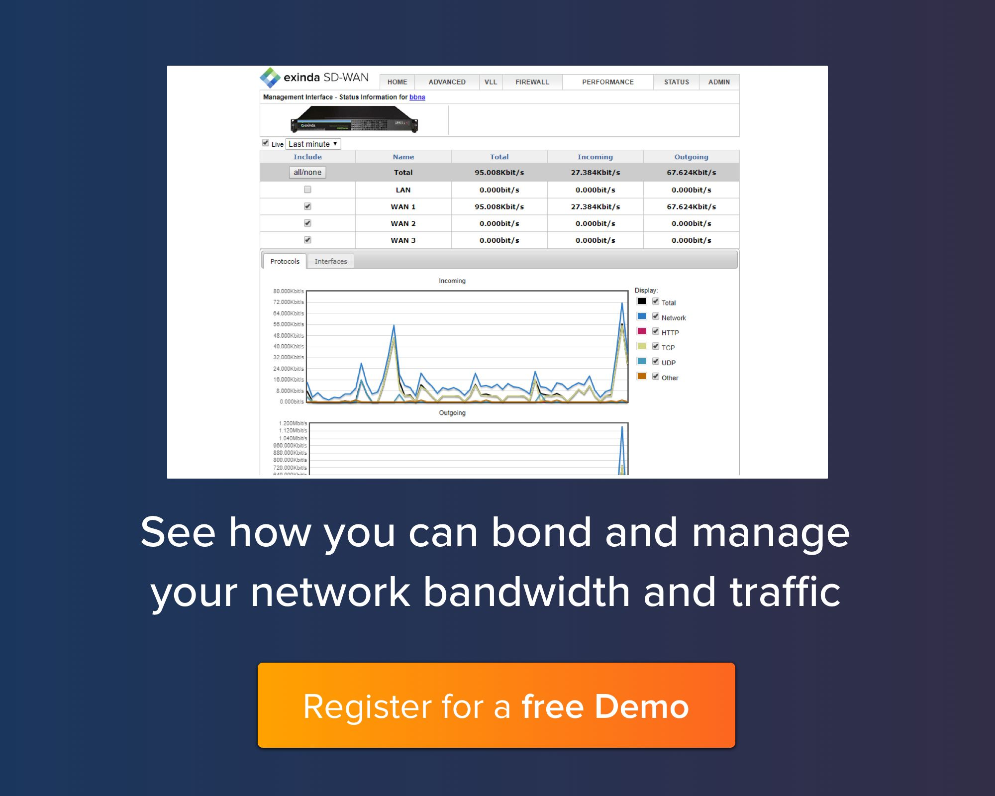 See how you can bond and manage your network bandwidth and traffic